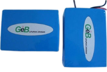 24V6Ah rechargeable lithium battery pack for solar storage equipement
