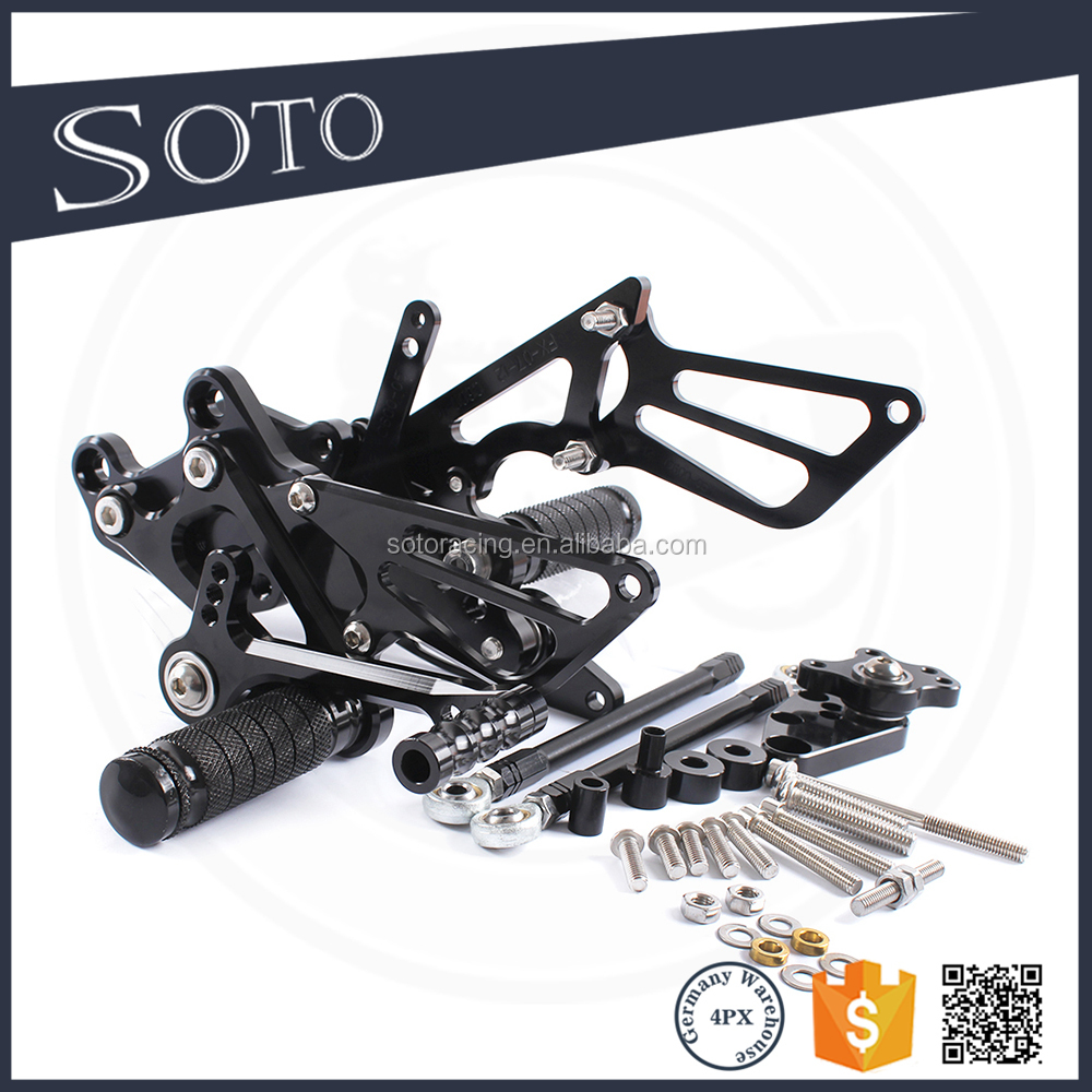 Full CNC aluminum Motorcycle motorcycle foot pegs For HONDA CBR600RR 2007-2008