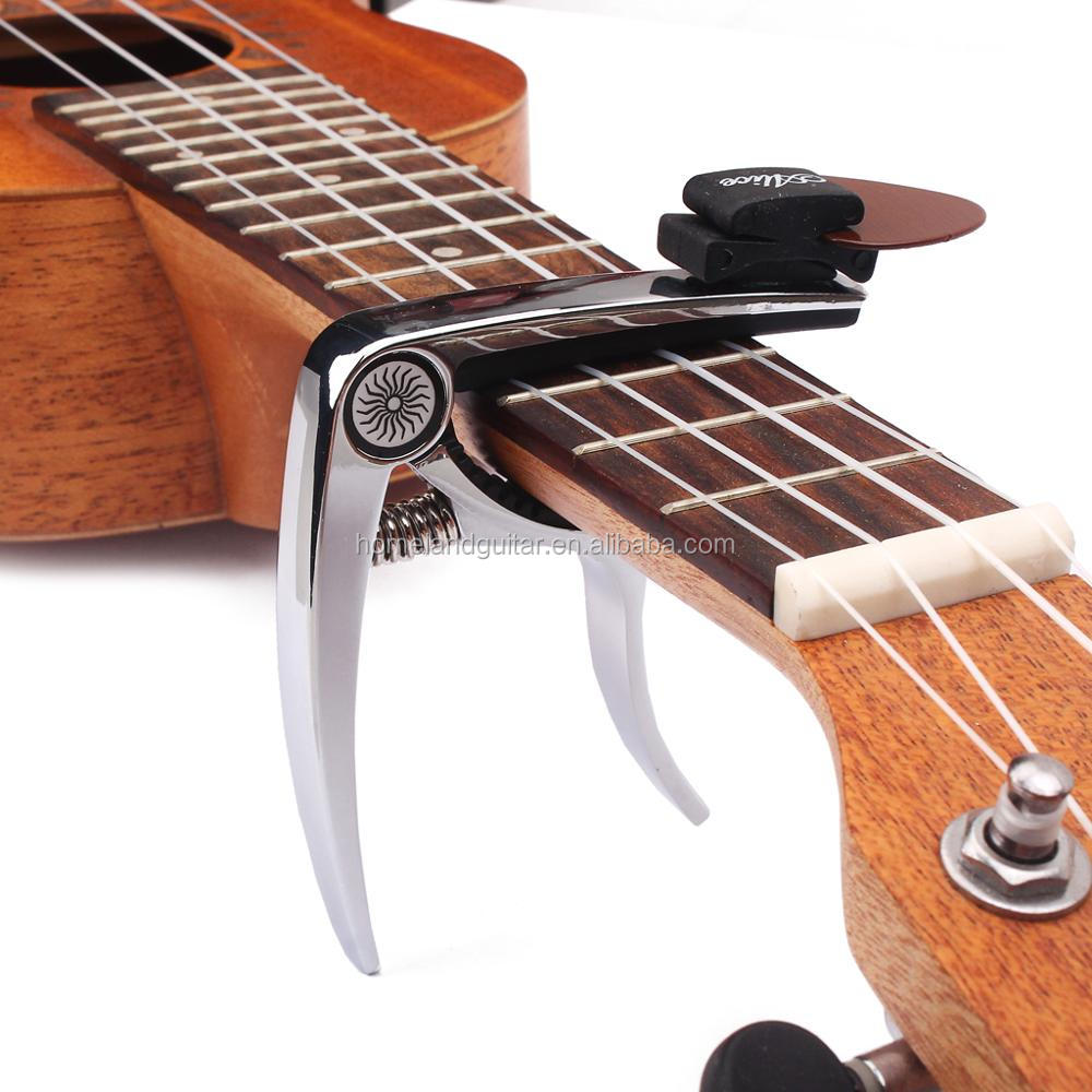 New Quick Change Clamp Key Acoustic Classic Guitar Capo For Tone Adjusting for Electric Acoustic Guitar Ukulele