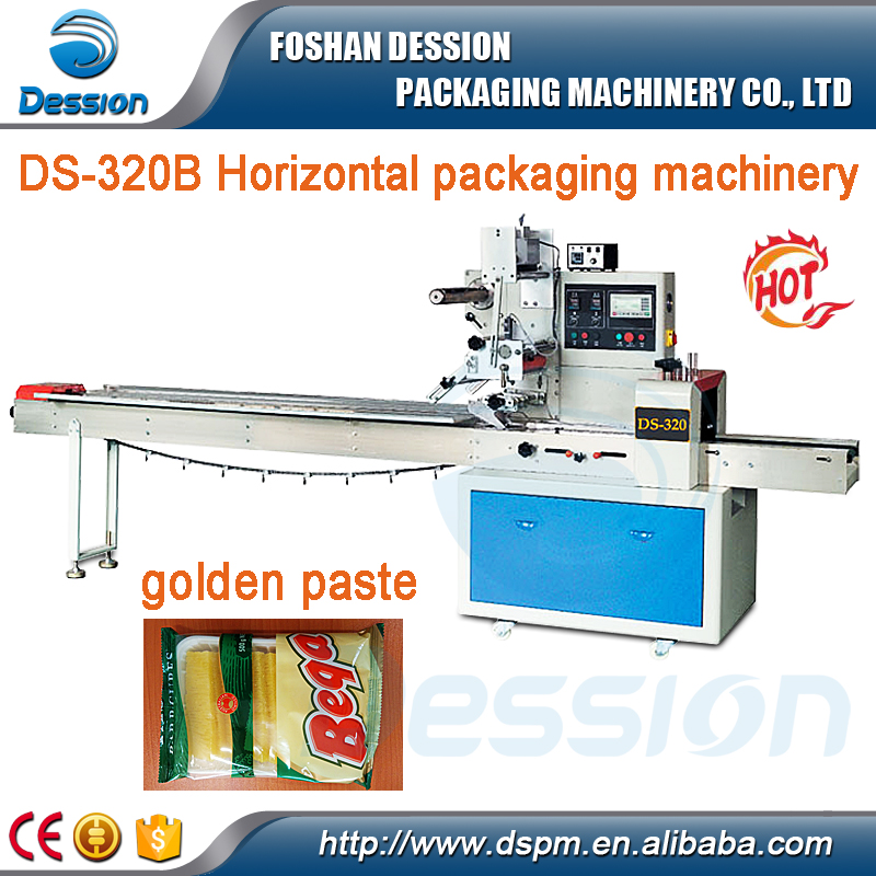 Automatic Food Sponge Cake Packaging Machine DS-320B