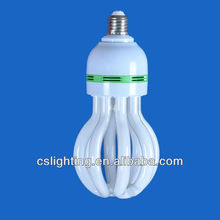 T5 4U E27 45W lotus energy saving lamps (CFL)