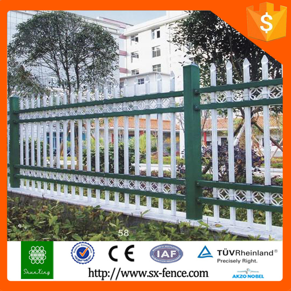 2015 hot sale used iron wrought wire mesh fence
