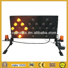 OPT VMAB-25 2 Years Warranty Arrow Sign Board with 25 lamps,Truck Mounted Led Arrow Sign