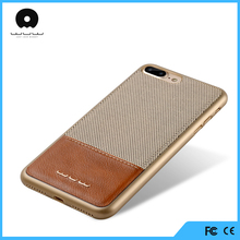 Mobile phone accessories,genuine wood grain leather phone case for iphone 7 case