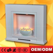 White Stone Electric Fireplaces Frame Fireplace