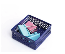 Metal Mesh Paper Clip Holder