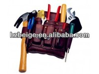 2015 Custom China manufacture Stalwart and Professional Leather Tool Bag