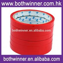 Colored plastic roll for edge tape ,h0tva decorative packing tape for sale