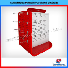 Good quality metal jewelry accessories display exhibitor