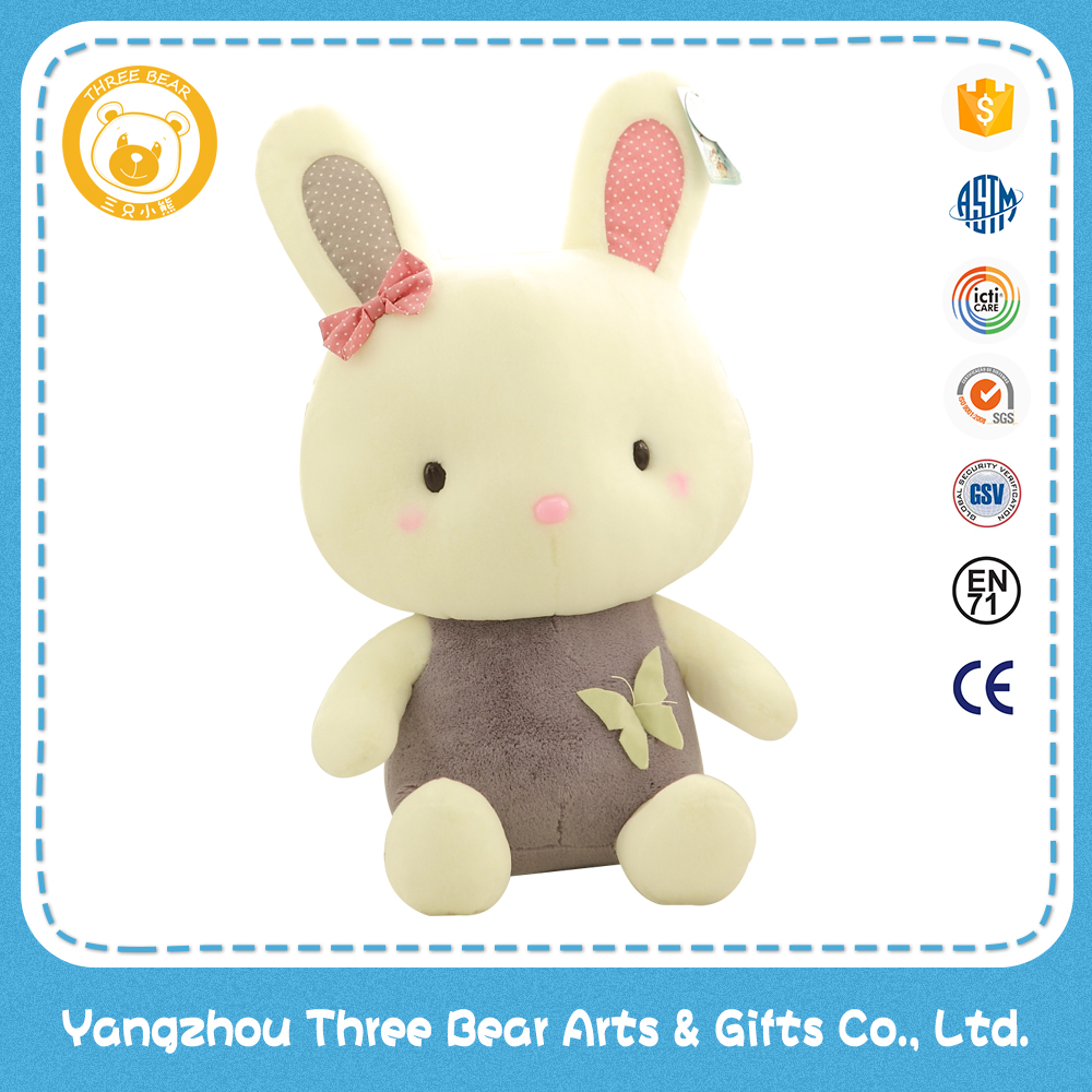 31cm sitting rabbit stuffed <strong>plush</strong> children toy