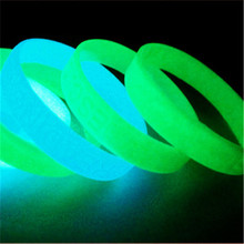 2016 Hot selling cheap promotion glow in dark silicone bracelet wristband with free design