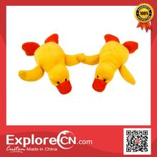 Hot sale cute talking plush duck toy with magnet