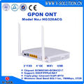 FTTH Triple Play Solution GPON 4GE 2POTS USB 802.11AC Dual-Band WiFi ONT with OMCI/WEB/TR069 Management