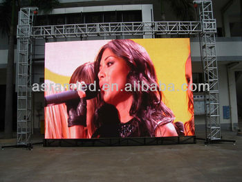 High brightness outdoor rental led billboard ph16 ph20
