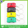 Solar Energy Car Cartoon Keychain