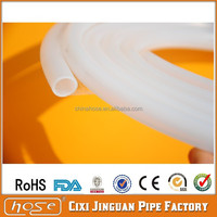 "1/2"" White Food Grade Soft Silicone Single Clear Hose, Silicone Clear Water Hose, Silicone Transparent/Clear Hose"