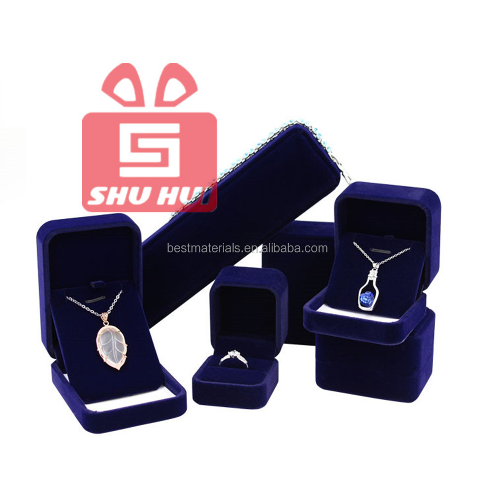 Best-Selling Red Heart Shape Jewelry Ring Packing Box Engagement Ring Gift Box Couple Ring Box