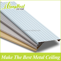 2016 Aluminum colored suspended ceiling tiles