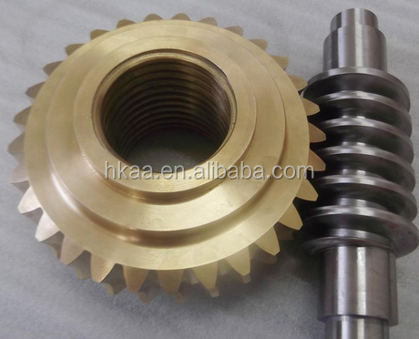 custom brass/steel worm gear for servo motor gear manufacturer