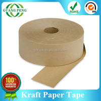 Quality Guaranteed Brown Adhesive Gummed Paper Tape