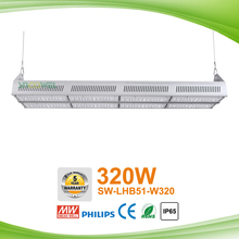 Shenzhen Supplier Waterproof IP65 300w LED Linear High bay Fixture