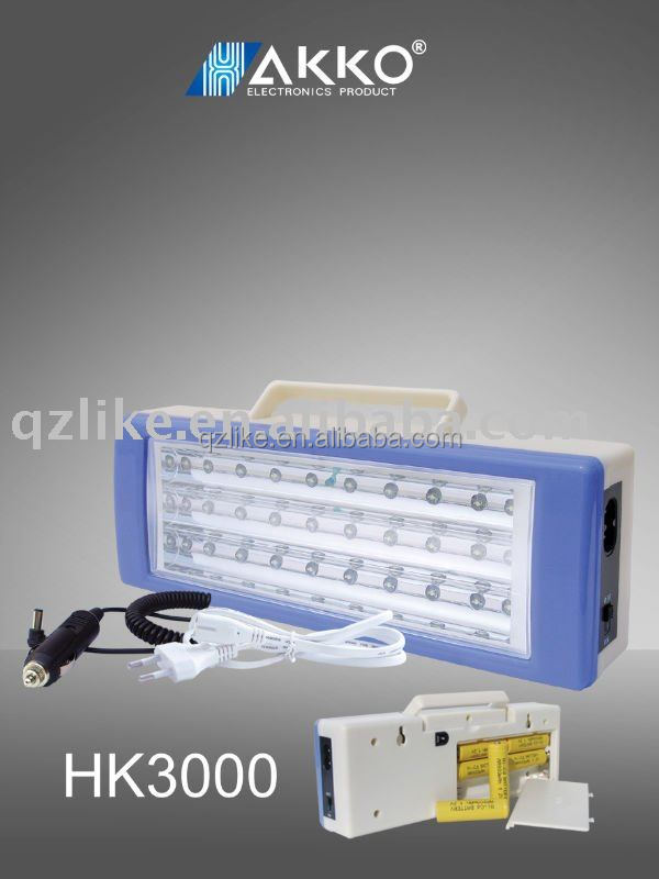 HAKKO Portable best quality rechargeable solar emergency light