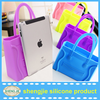 Latest Cute candy color lady hand bags personality smile face shopping bags for ladies