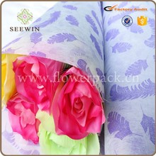 Feather non woven decor for flower arrangement stands