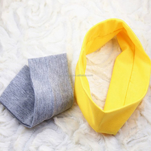 Candy color hair band fashion women cotton sport sweat absorption headband