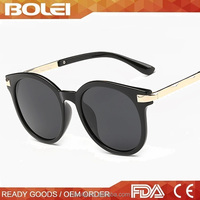 2016 trend product vintage big eye sunglasses polarized rolling sunglasses