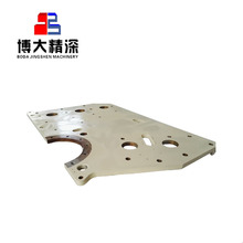 China oem factory mining jaw crusher parts for metso nordberg c80 side plate