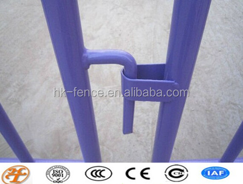 Haotian temporary metal police defense barrier SGS,ISO certificated factory