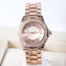 Latest watches design for ladies metal case good quality stainless steel back women wristwatch