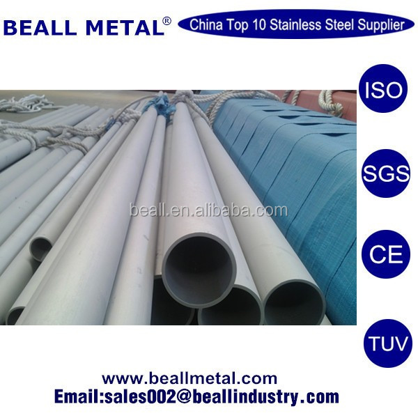 High Quality AISI/ASTM/SUS 409 410 420 430 441 444 446 Seamless Stainless Steel Pipe Price Per Meter
