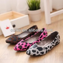 leopard shoes women 2013 hot sale fashion style popular design shoes CP6359
