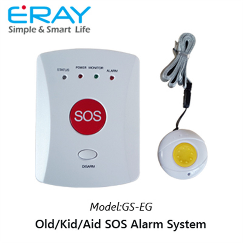 Home security personal safty alarm system GS-EG for elderly/kids/aid calling