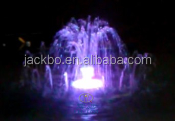 Popular round and rectangle musical dancing Large outdoor water fountain