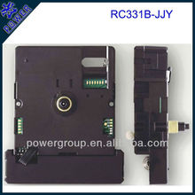 Radio controlled sweep clock movement for Japen power brand Shaft height 8.0mm cheap price RC331B-JJY