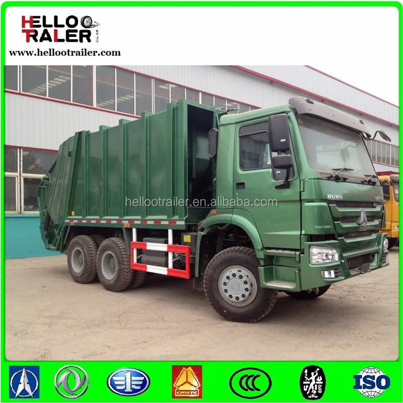 Sinotruck HOWO 4x2 Small Garbage Truck Capacity of Garbage Truck