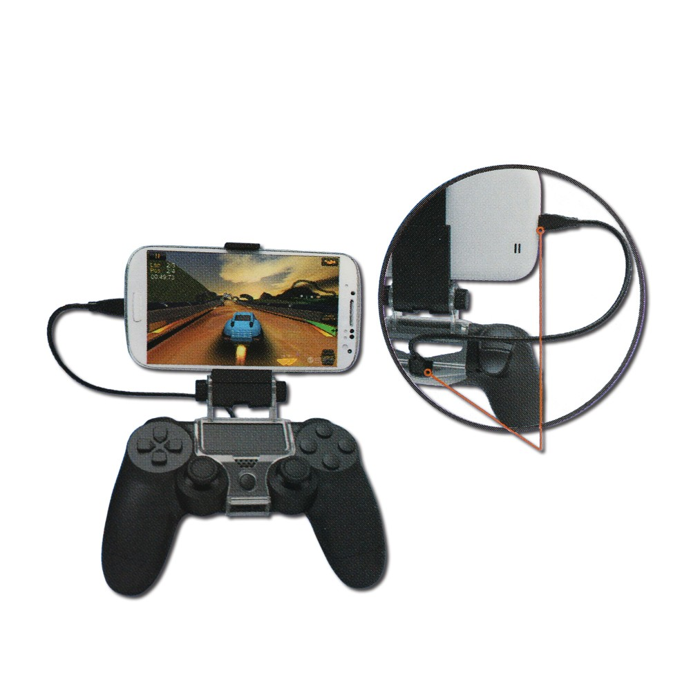 Smartphone Smart Clip Clamp Holder for PS4 Game Controller