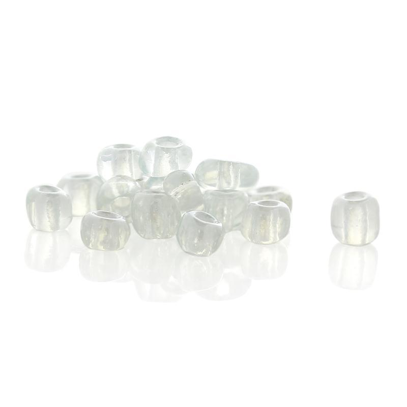 Discount Cylinder White Glass Seed Beads