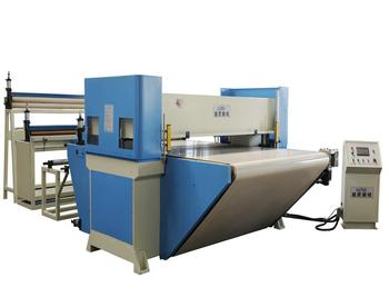 CE  Automatic  conveyor belt feeding PLC hot cut and seal machine
