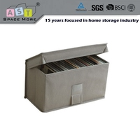 Top quality best sale cd dvd fabric storage box