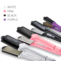 Professional All In 1 Flat Iron Salon Use Wide Titanium Plates Hair Straightener