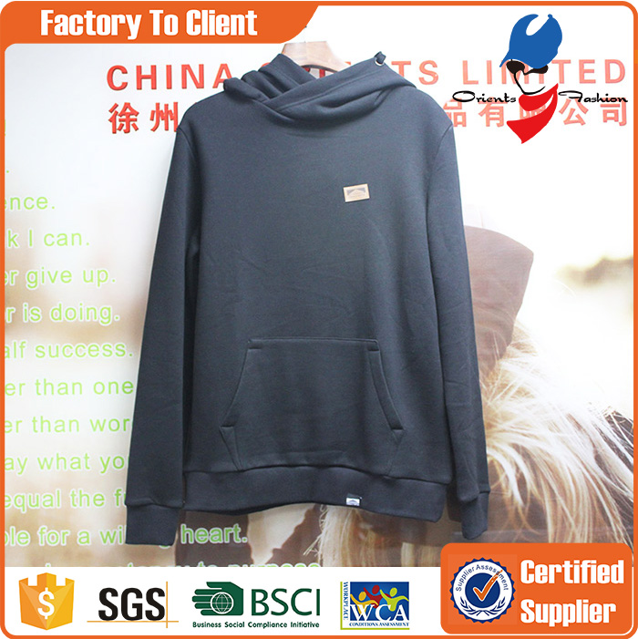 Custom Wholesale Blank Pullover Hoodies Men
