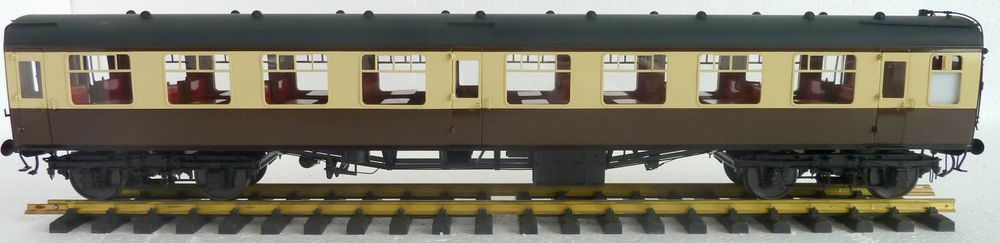 BRASS MODEL OF BRITISH MK1 COACH