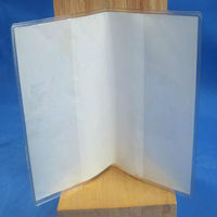 pvc book cover/ plastic covers/pvc sheets for binding