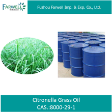 Farwell 100% pure Citronella Grass Oil price Mosquito Control Oil for Skin care CAS 8000-29-1
