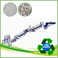 Waste and dirty PE PP films plastic recycling machine