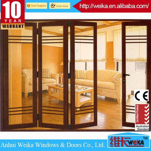 good quality aluminum folding glass door